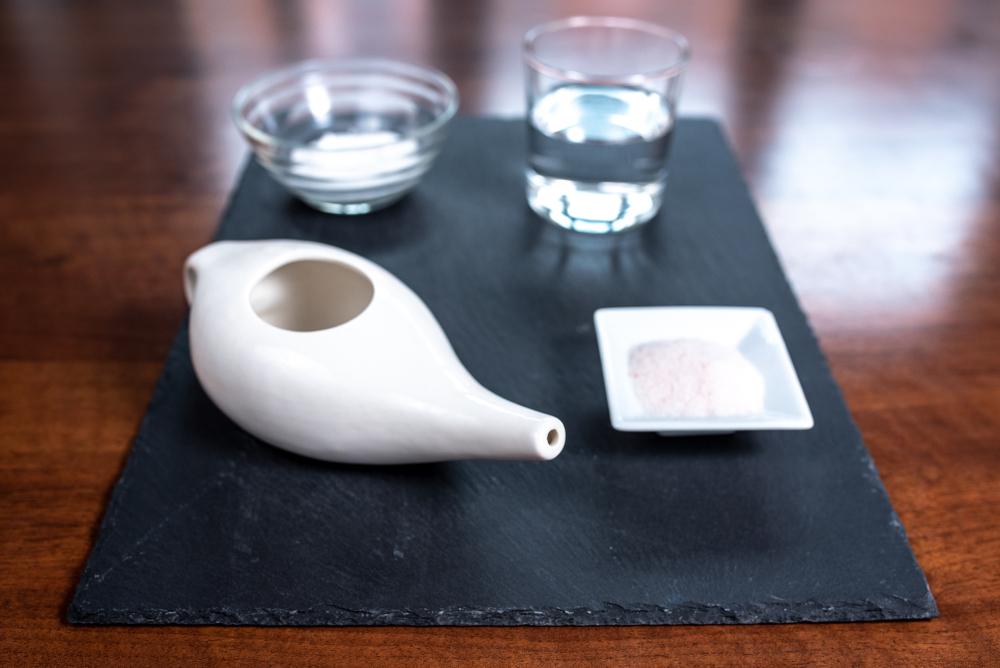 le lavage du nez, hygiène de naturopathie