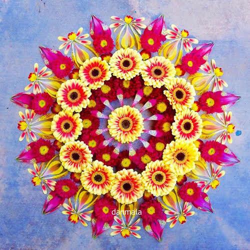 le mandala du printemps en naturopathie
